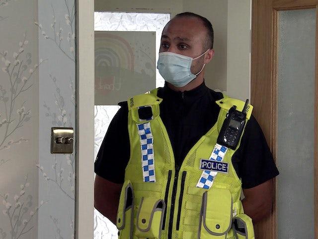 Mr Policeman on Coronation Street on September 9, 2020