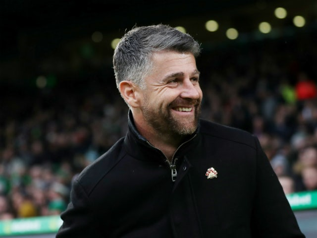 Motherwell boss Steve Robinson pictured in November 2019