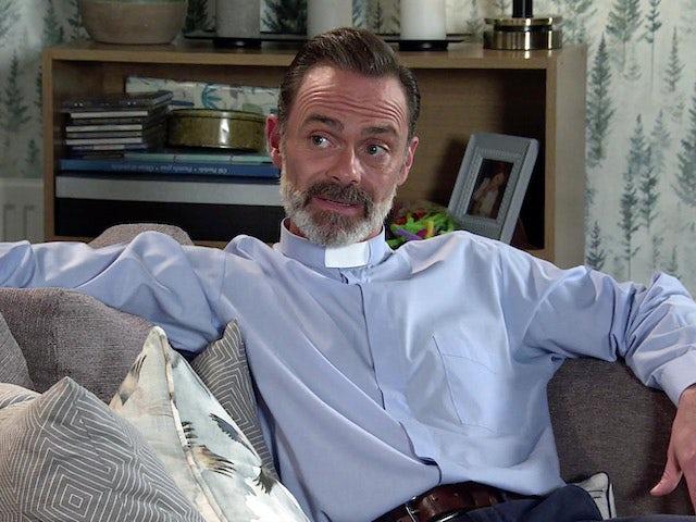 Billy on Coronation Street's second episode on September 11, 2020