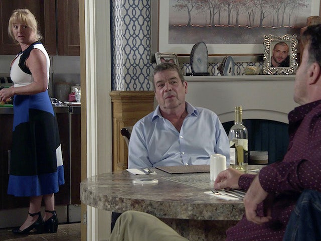 Johnny and Jenny on Coronation Street on August 31, 2020