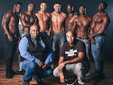 The lads of The Black Full Monty
