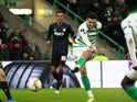 Celtic midfielder Tom Rogic in Europa League action on February 27, 2020