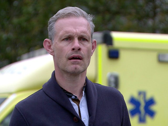 Nick on Coronation Street's first episode on September 11, 2020