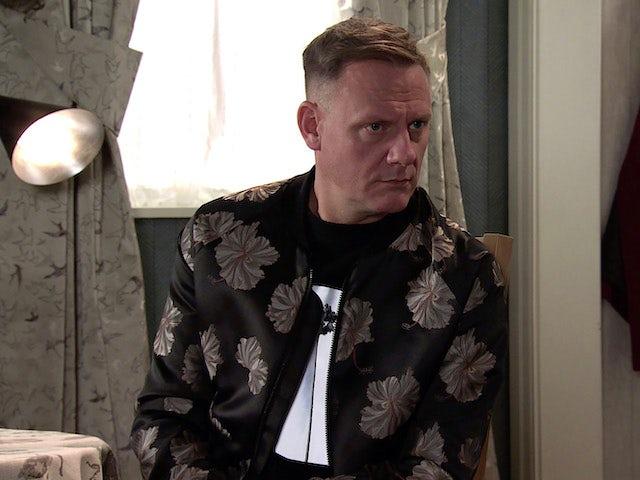 Sean on Coronation Street's second episode on September 11, 2020