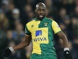 Youssouf Mulumbu in Premier League action for Norwich City on February 5, 2016