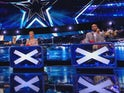 Amanda Holden and Ashley Banjo in the BGT semi-finals