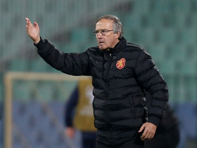 Bulgaria manager Georgi Dermendzhiev pictured in November 2019