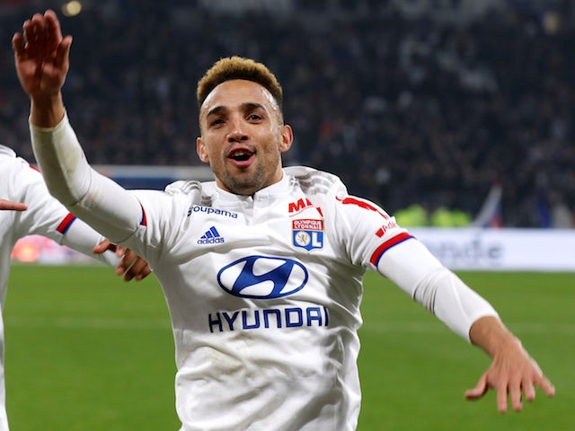 Lyon defender Fernando Marcal pictured in March 2020