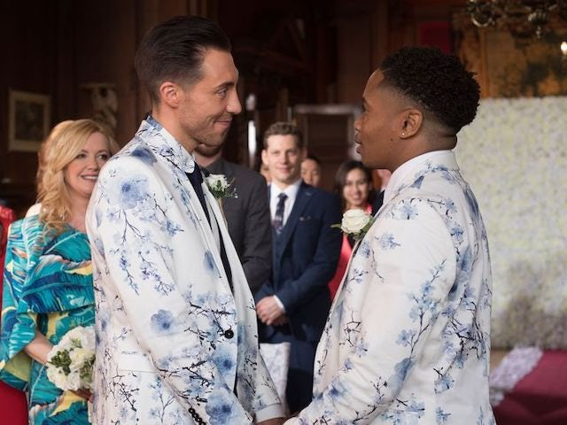 Hollyoaks episode 5431 - Scott and Mitchell get hitched