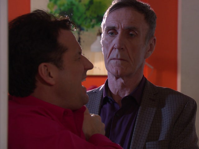 Hollyoaks episode 5434 - Edward continues to torture Tony