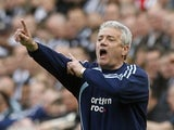Kevin Keegan in charge of Newcastle United in September 2008