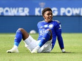 Leicester City's Demarai Gray pictured in June 2020