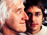 A quite frankly frightening picture of Louis Theroux with Jimmy Savile
