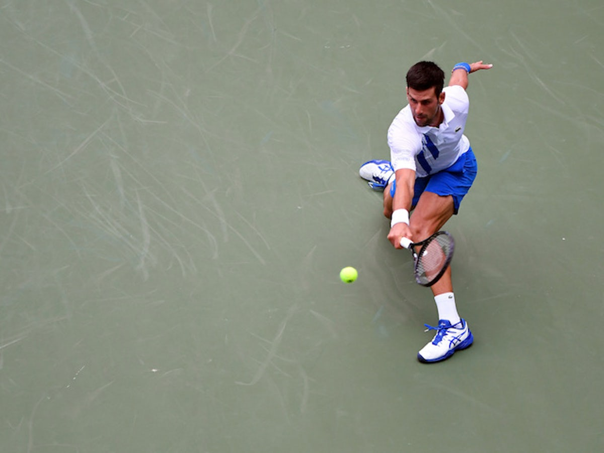 Novak Djokovic Disqualified From Us Open After Hitting Line Judge With Ball Sports Mole