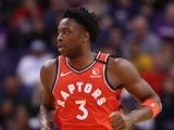 Toronto Raptors forward OG Anunoby in action on March 30, 2020