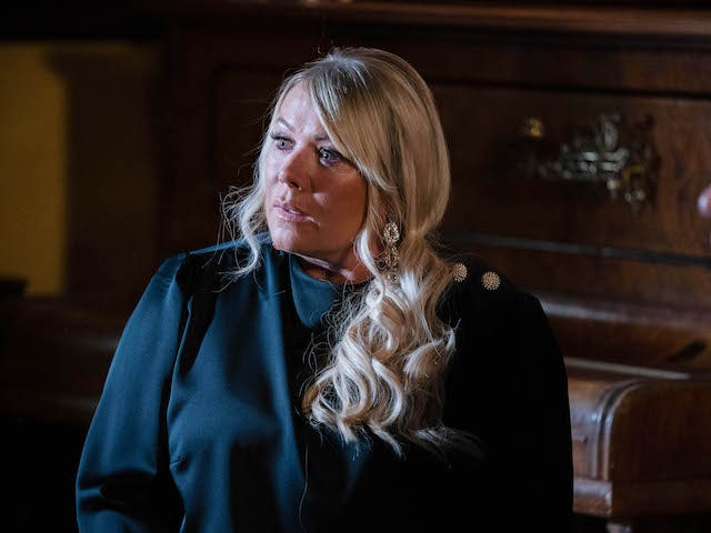 Sharon on EastEnders on September 7, 2020