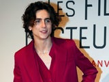 Timothee Chalamet pictured on December 12, 2019
