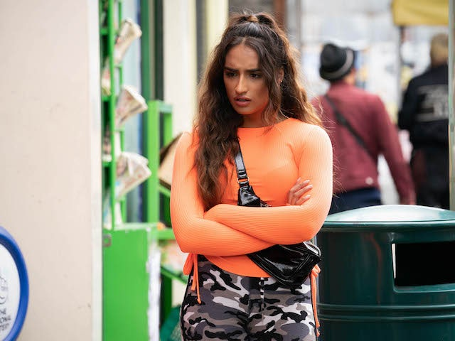 Habiba on EastEnders on September 8, 2020