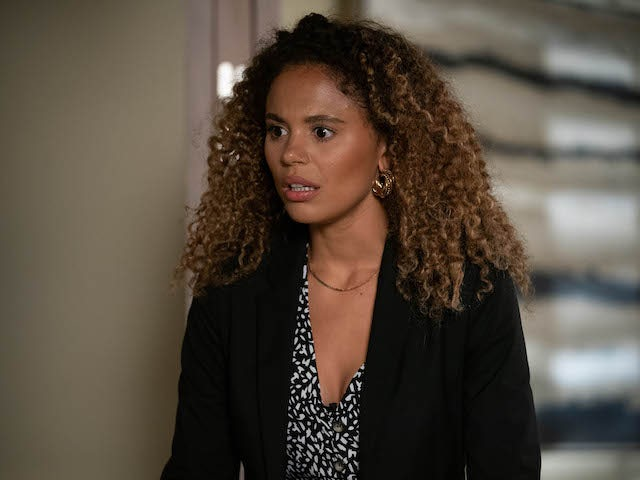 Chantelle on EastEnders on September 8, 2020