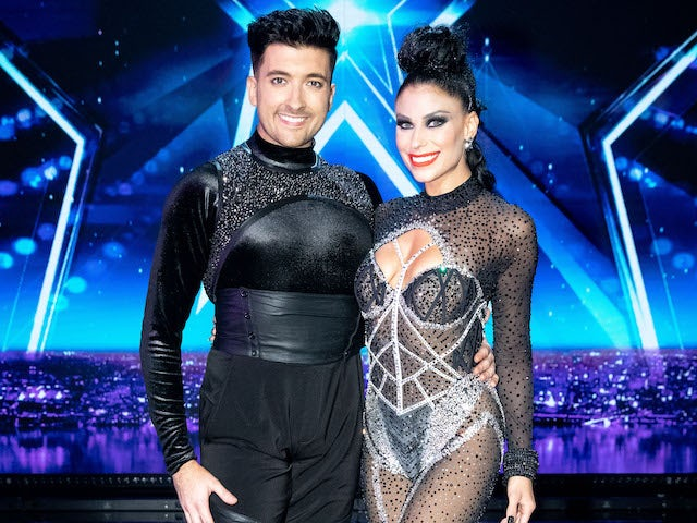 Aaron and Jasmine on the second semi-final of Britain's Got Talent on September 12, 2020