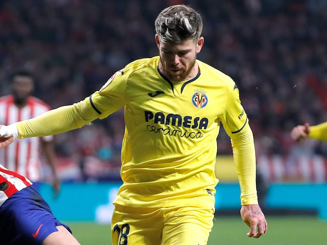 Alberto Moreno in action for Villarreal on February 23, 2020