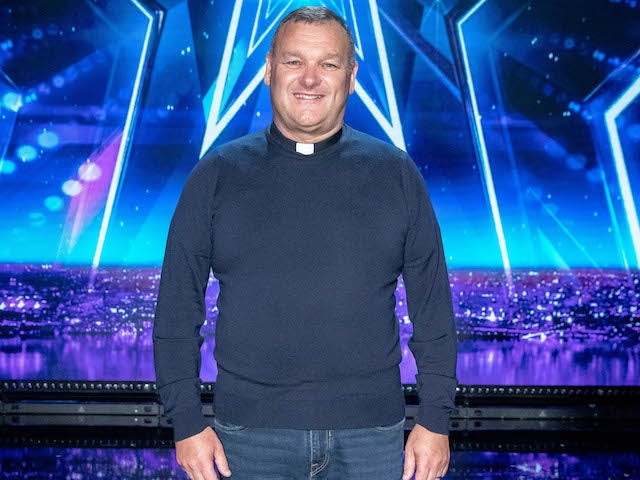 Allan Finnegan on the second semi-final of Britain's Got Talent on September 12, 2020