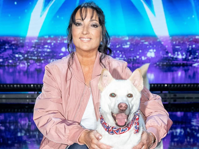 Amanda and Miracle on the second semi-final of Britain's Got Talent on September 12, 2020