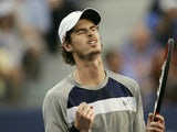 Andy Murray pictured after beating Rafael Nadal in the US Open semi-finals on September 7, 2008
