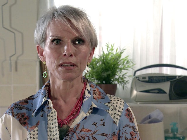Debbie on Coronation Street on September 25, 2020