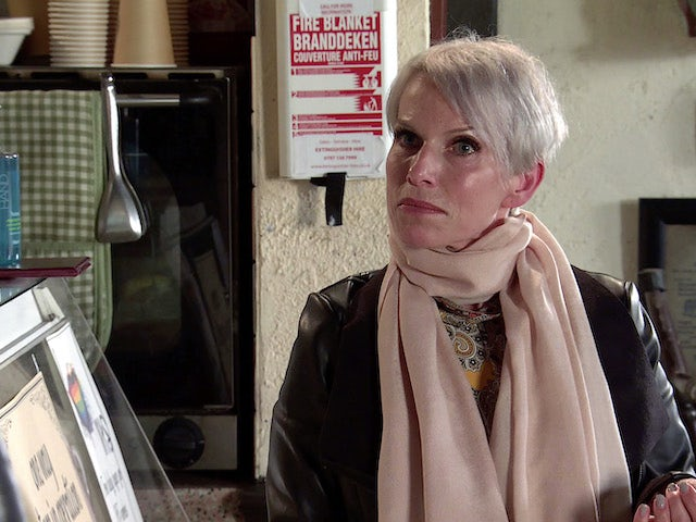 Debbie on the first episode of Coronation Street on September 23, 2020