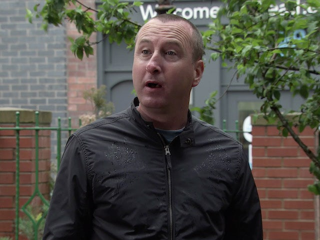 Kirk on the second episode of Coronation Street on September 18, 2020