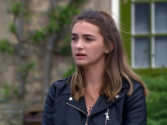 Gabby on the second episode of Emmerdale on September 17, 2020