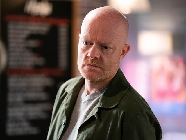 Max on EastEnders on September 15, 2020