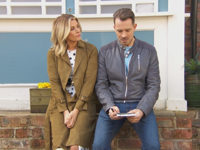Mandy and Darren on Hollyoaks on September 24, 2020