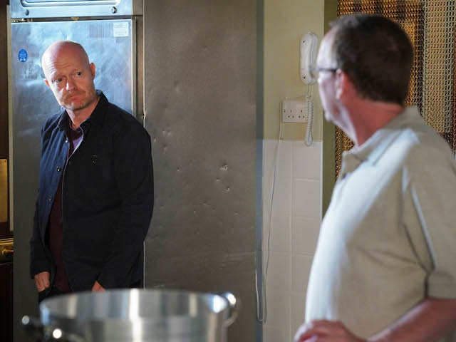 Max and Ian on EastEnders on September 14, 2020