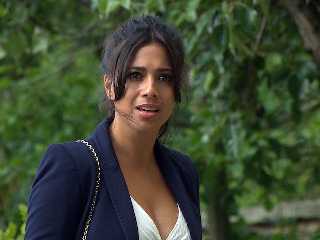 Priya on Emmerdale on September 14, 2020