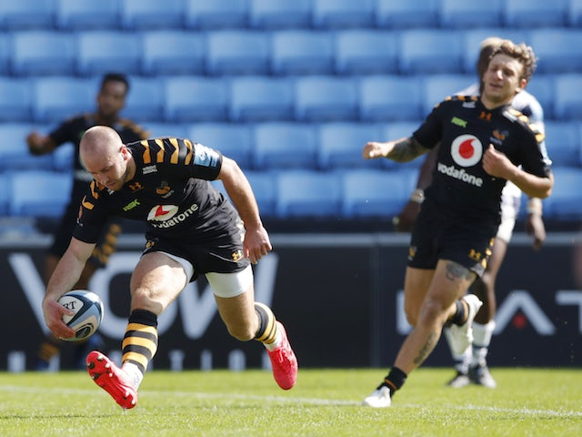 Result: Wasps run in nine tries during high-scoring Bristol thrashing