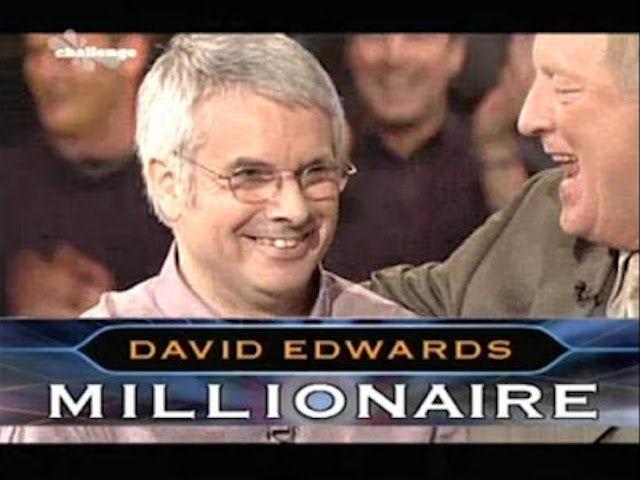 Second WWTBAM winner David Edwards