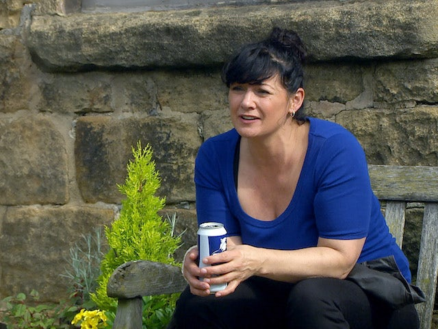 Moira on the first episode of Emmerdale on September 24, 2020