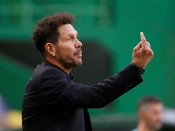 Atletico Madrid manager Diego Simeone pictured in August 2020