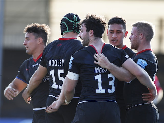 Result: Saracens bounce back with convincing win over Exeter