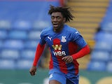 Crystal Palace winger Eberechi Eze in action during 2020-21 pre-season