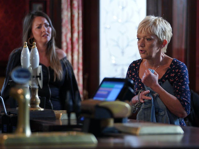 Stacey and Jean on EastEnders on September 24, 2020