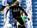 Bristol City striker Famara Diedhiou pictured on June 20, 2020