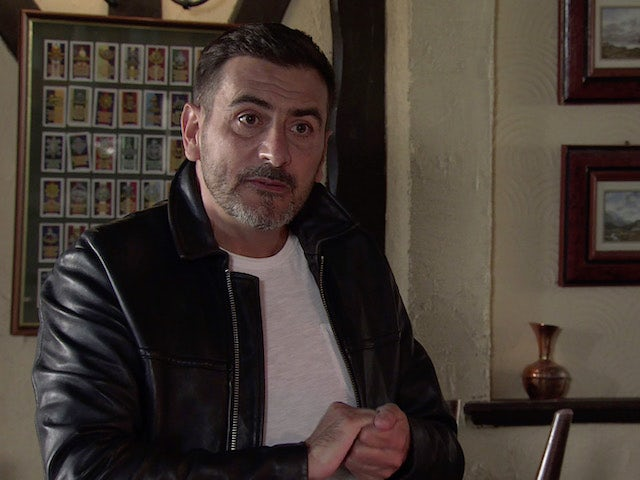 Peter on the first episode of Coronation Street on September 23, 2020