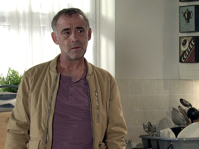 Kevin on the second episode of Coronation Street on September 18, 2020