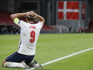 Harry Kane denied by late goalline clearance as England held by Denmark