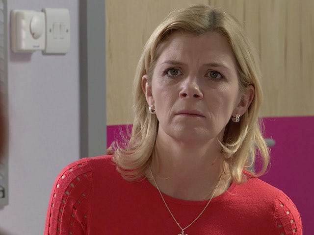 Leanne on the second episode of Coronation Street on September 14, 2020