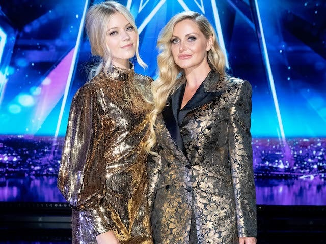 Honey and Sammy on the second semi-final of Britain's Got Talent on September 12, 2020