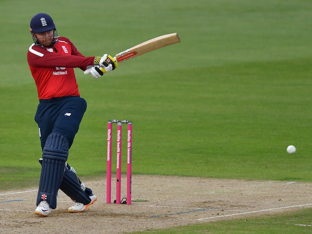 Jonny Bairstow steers England to 145 in final T20 clash against Australia